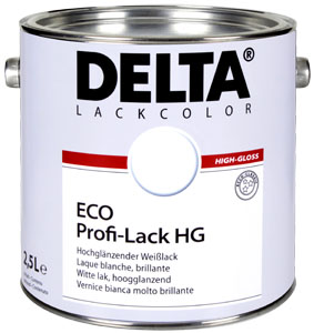 Delta eco Industrie hoogglans 1 ltr